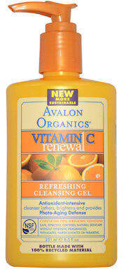 Avalon Organics Vitamin C Refreshing Cleansing Gel 250.75 ml Skincare