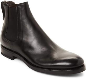 Henderson Baracco Black Rocker Leather Chelsea Boots