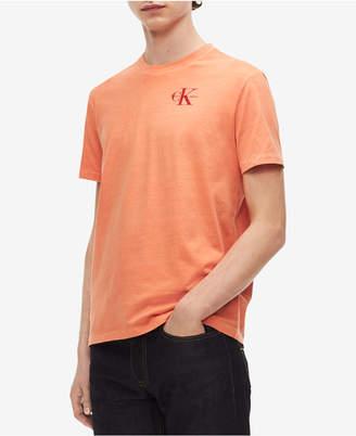 Calvin Klein Jeans Men's Logo-Print Cotton T-Shirt