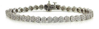 FINE JEWELRY LIMITED QUANTITIES 2 CT. T.W. Diamond 14K White Gold Tennis Bracelet