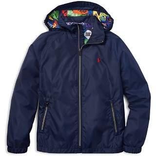 Ralph Lauren Boys' Packable Windbreaker Jacket - Big Kid