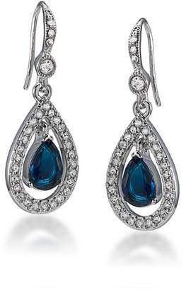 Carolee Pavé Teardrop Earrings
