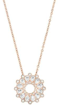 Swarovski 18K Rose Gold Plated Asset Crystal Pendant Necklace
