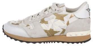 Valentino Rockrunner Star Sneakers