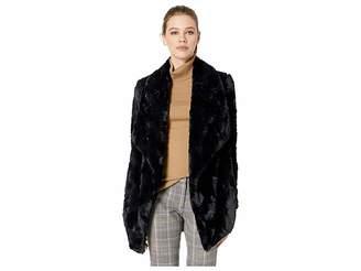 BB Dakota Warm Thoughts Soft Wubby Drape Front Jacket