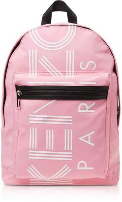 Kenzo Flamingo Pink Nylon Large Sport Backpack