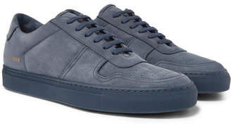 Common Projects BBall Nubuck Sneakers - Men - Navy