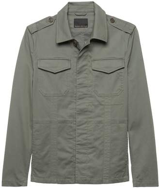 Banana Republic Lightweight Officer's Shirt Jacket