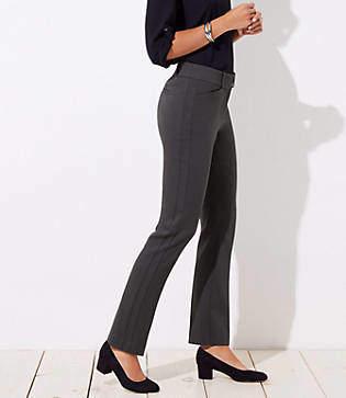 LOFT Petite Straight Leg Pants in Julie Fit