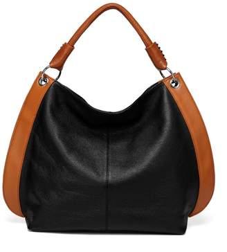 Vicenzo Leather Camelia Leather Tote Shoulder Handbag