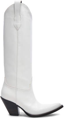 Maison Margiela Leather High Mexas Boots