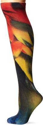 K. Bell Socks Women's Single Pack Fun Novelty Knee High Socks