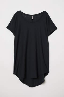 H&M Jersey Top - Black
