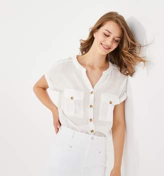 Promod Cotton gauze shirt