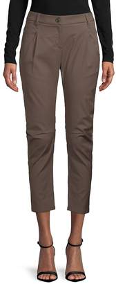 Brunello Cucinelli Women's Classic Cropped Pants