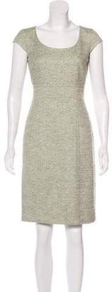 Max Mara Twill Sheath Dress