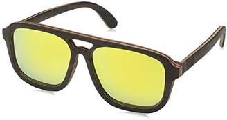 Earth Wood Playa Sunglasses Polarized Aviator