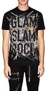 """DSQUARED2 Men's """"Glam Slam Rock"""" Embellished Cotton T-Shirt"""