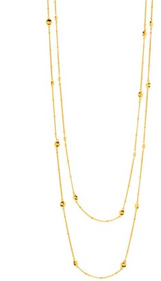Women's Gorjana 'Marlow' Wrap Necklace $95 thestylecure.com