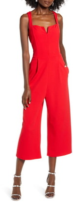 Speechless Notch Neck Jumpsuit