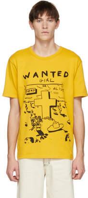 Bianca Chandon Yellow Wanted T-Shirt