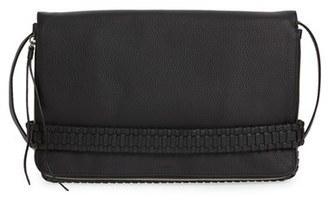 Allsaints Large Club Convertible Crossbody Bag - Black $278 thestylecure.com