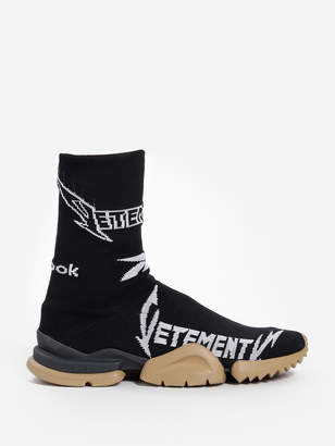1b8b126edb7 Vetements BLACK AND WHITE METAL SOCK SNEAKERS