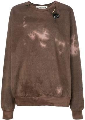 Ottolinger tie dye sweatshirt