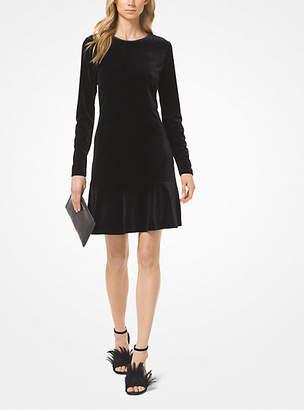 Michael Kors Velvet Dress