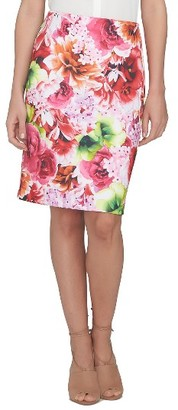 Women's Cece Scuba Pencil Skirt $79 thestylecure.com