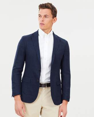 Polo Ralph Lauren Textured Wool Blend Blazer