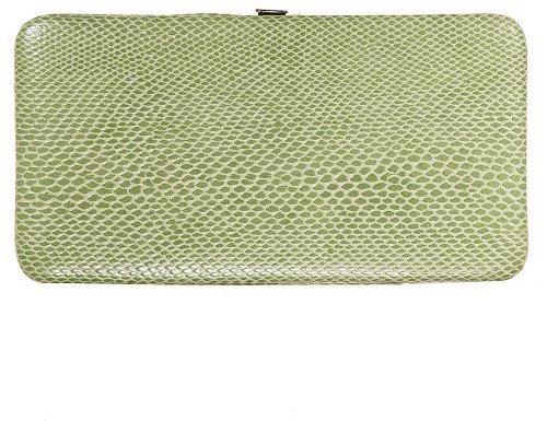 Xhilaration® Hinge Clutch - Lizard Green