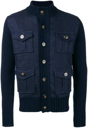 Jacob Cohen knitted sleeve jacket