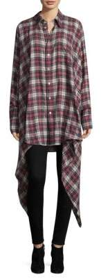 Faith Connexion Plaid Button-Down Shirt