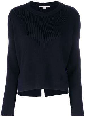 Stella McCartney cropped ribbed knit sweater
