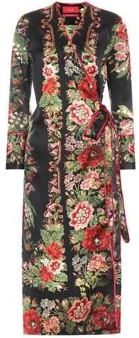 F.R.S For Restless Sleepers Bedrucktes Kleid Dolos aus Seide