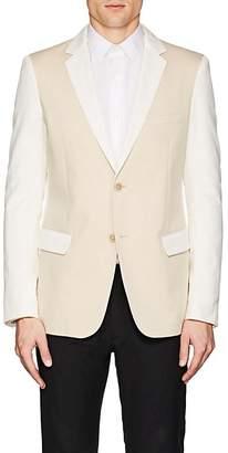 Jil Sander Men's Colorblocked Cotton Two-Button Sportcoat