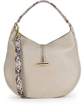 Deadly Ponies Mr Finch Luxe - Python Print Handle Hobo
