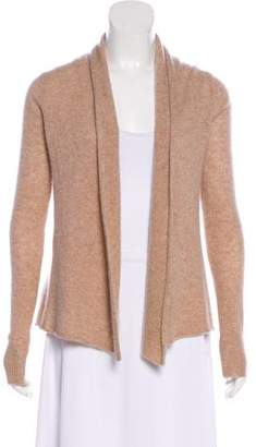 White + Warren Cashmere Open-Front Cardigan