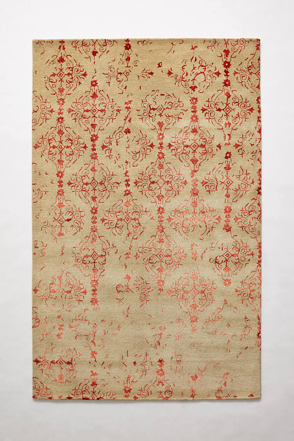 Anthropologie Anthropologie Distressed Mahalia Rug