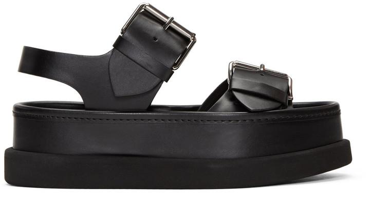 Stella McCartney Black Buckles Sandals