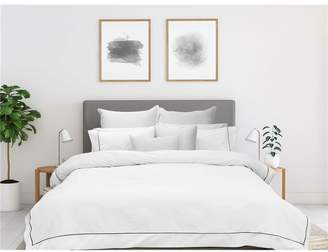 f4253293897e Bas Phillips Bamboo Cotton Quilt Cover Set White Super King Bed