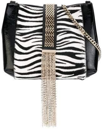 Lanvin zebra print satchel