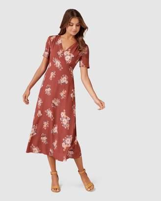 Forever New Wendy Ditsy Midi Dress