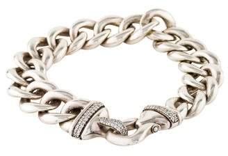 David Yurman Diamond Buckle Bracelet