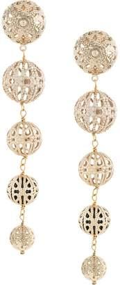Rosantica beaded drop earrings