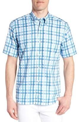 Tailorbyrd Larkin Regular Fit Plaid Sport Shirt