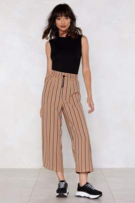 Nasty Gal Do What is Stripe Cropped Pants