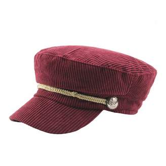G-CAP Women Winter Corduroy Newsboy Beret Cap Flat Hats Duckbill Hat 44649e92390