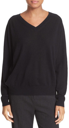 VINCE. Relaxed Cashmere V-Neck Sweater $275 thestylecure.com